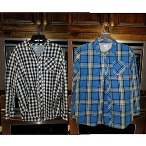 2 shirt bundle boys Husky 18/20